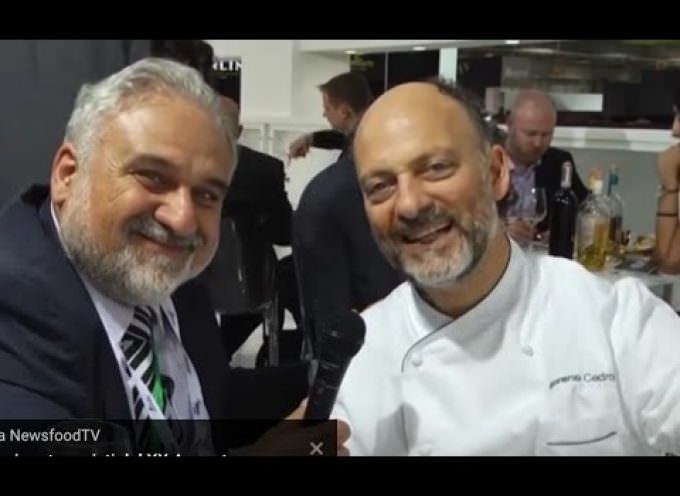 Moreno Cedroni Chef: pesce a due stelle a Vinitaly 2017 (Video)