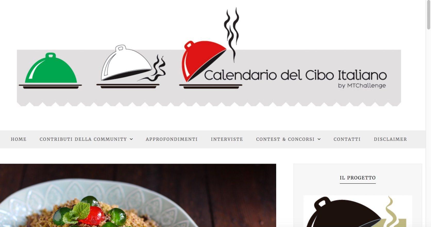 Nasce il Calendario del Cibo Italiano: un format nuovo di webcomunication