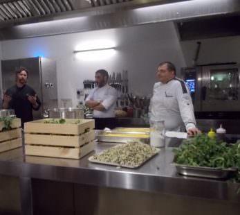 i tre chef al lavoro