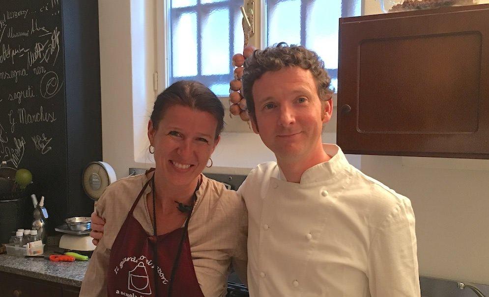 Da Astrid Vinatzer si chiacchiera e si impara a cucinare coi grandi chef