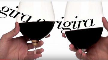 Novità per Wine Lovers snob: Gira e rigira, calice da degustazione