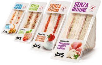 IBIS presenta i primi tramezzini senza glutine in Italia