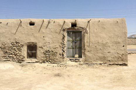 Iran, abitazione rurale