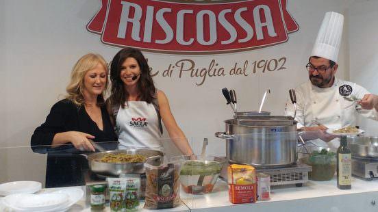 Margherita Mastromauro Pasta Riscossa con Chiara Ercole a Tuttofood 2017