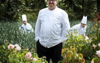 Massimo Spigaroli, dell'Antica Corte Pallavicina ospite di Alain Ducasse al Dalì dell'Hotel Meurice di Parigi