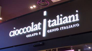 Cioccolatitaliani: Nuova Ciocco-Gelateria Chef Express a Malpensa
