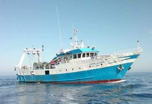 """Fermato in Grecia e poi rilasciato il motopesca mazarese """"Nuova Alcapa"""""""
