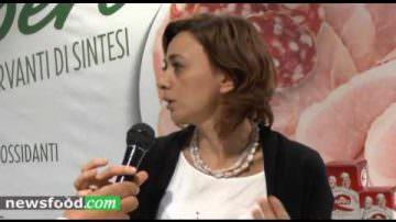 Daniela Barca, Responsabile Marketing Raspini Salumi, a Tuttofood 2017 (Video)