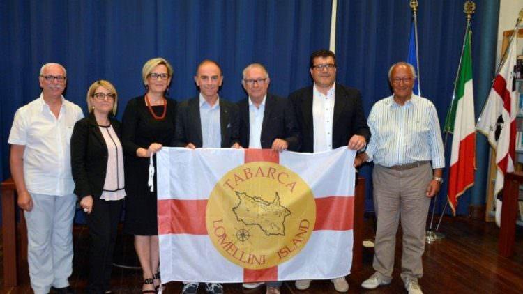 Il Marchese Enrico Lomellini di Tabarca in visita ufficiale a Carloforte e Calasetta