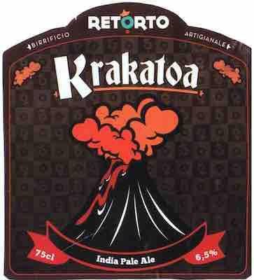 Kracatoa Retorto Pale Ale – Birra Artigianale
