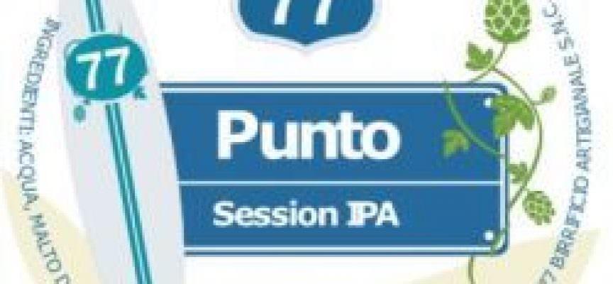 Punto Session Ipa – MC 77 – Birra Artigianale