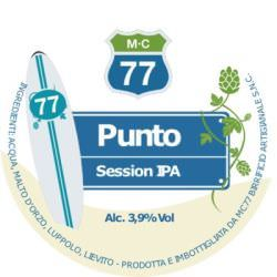 Punto Session Ipa – MC 77 – Birra Artigianale