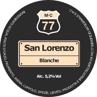 San Lorenzo Blanche M-C77 – Birra artigianale