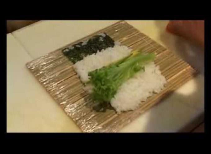 Come preparare il Futomaki (Video)