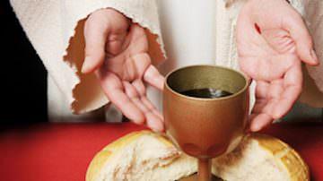 Pane e Vino per Eucaristia secondo la Chiesa Cattolica