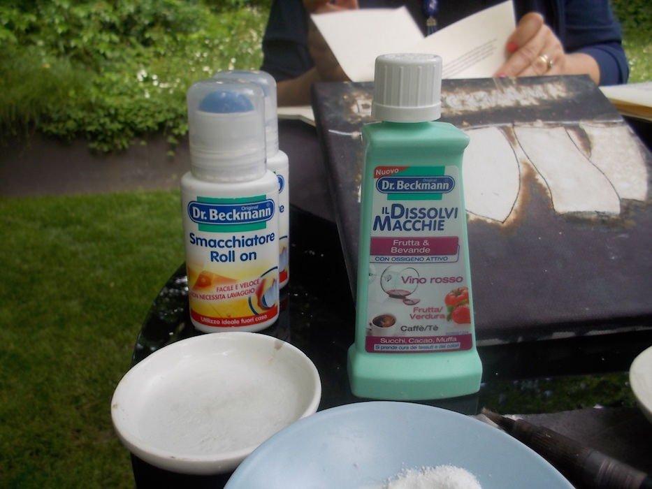 Dr Beckmann: Nuovo Smacchiatore Spray… lo porti con te anche in aereo