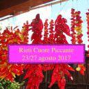 Rieti Cuore Piccante 2017, Fiera internazionale del peperoncino… la sagra che brucia!!