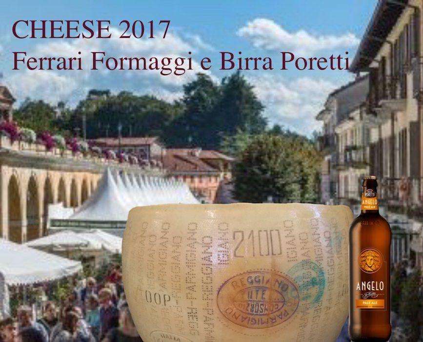 Ferrari Formaggi e Birrificio Angelo Poretti a Cheese 2017