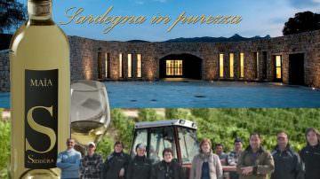 """Vermentino di Gallura superiore Maìa 2015 Siddura:  Tre Bicchieri guida """"Vini d'Italia 2018"""" del Gambero Rosso"""
