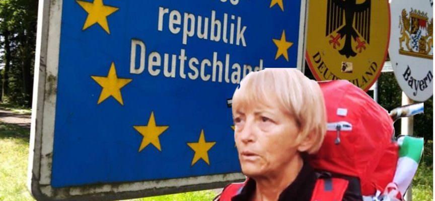 Vienna Cammarota, camminatrice di pace, piace anche alla stampa tedesca