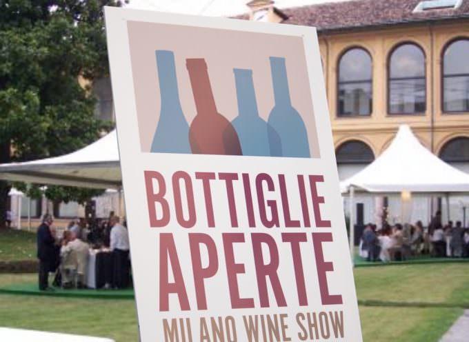 Milano: Bottiglie Aperte, Palazzo delle Stelline, domenica 8 e lunedì 9 ottobre 2017