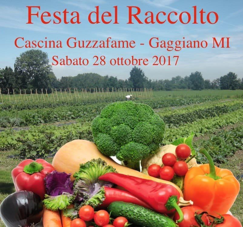 Cascina Guzzafame: Festa del Raccolto sabato 28 ottobre 2017