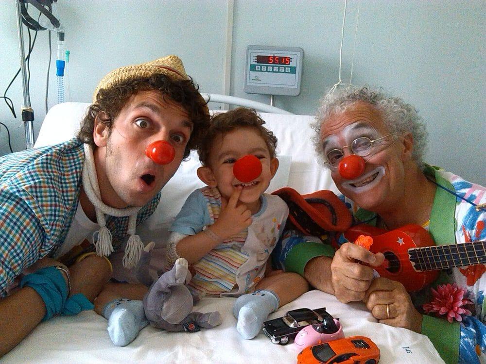 Bambini in ospedale : Dottor Sorriso ONLUS usa la clownterapia