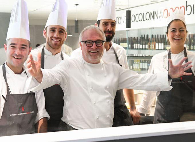 Antonello Colonna Open Bistrô, aeroporto di Fiumicino – Terminal 1  by  Chef Express