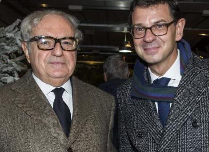 Milano: Auguri in baita sulla terrazza del Centro Svizzero di piazza Cavour