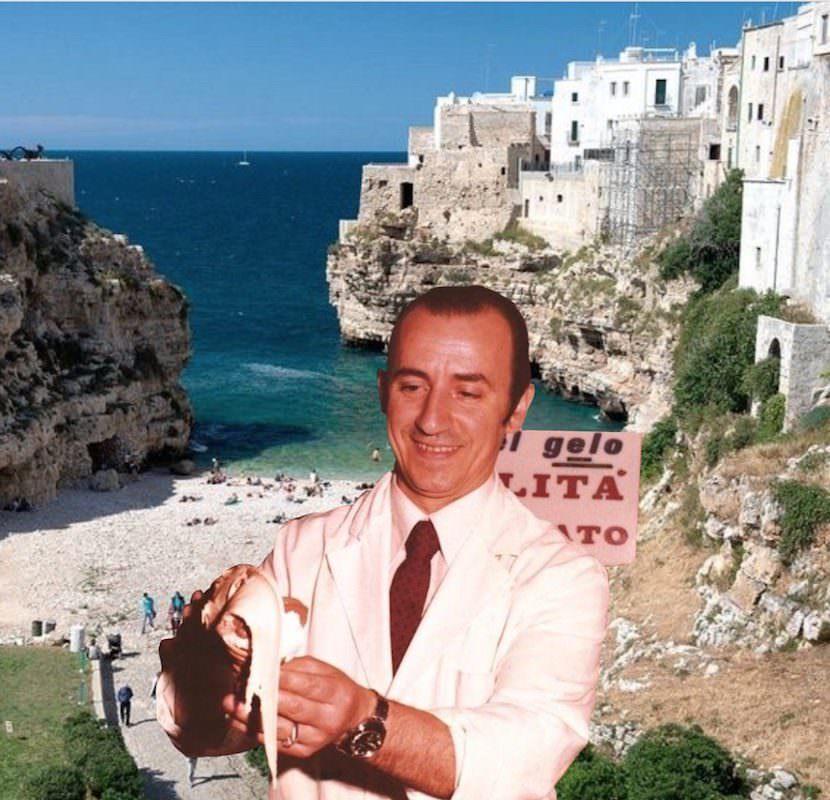 Polignano a Mare: Mario Campanella, Super Mago del gelato