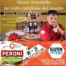 Marco Amoriello, Showcooking con birra Peroni  senza Glutine, al Gluten Free Expo di Rimini,