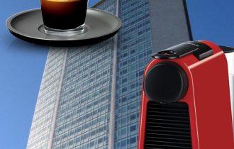 Essenza Mini Nespresso, caffè maxi qualità sul Pirellone di Milano