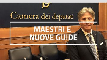 """Roberto Zorzo, fondatore di Bioimis, nel libro """"Maestri e Nuove Guide"""""""