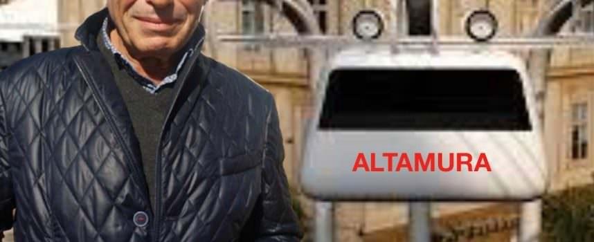 Vito Ninivaggi e la ferrovia gommata sospesa – New Trolley City-, da Altamura progetto salva ambiente