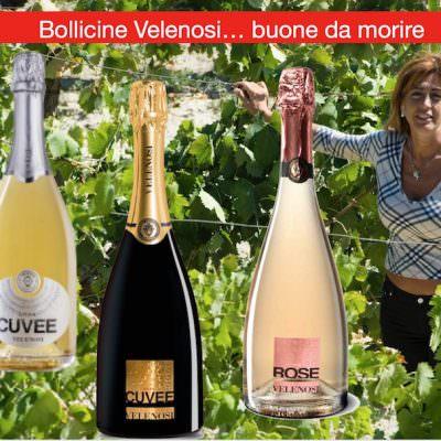 Bollicine Gran Cuvée, Gran Cuvée Gold e The Rose…Velenosi e intriganti