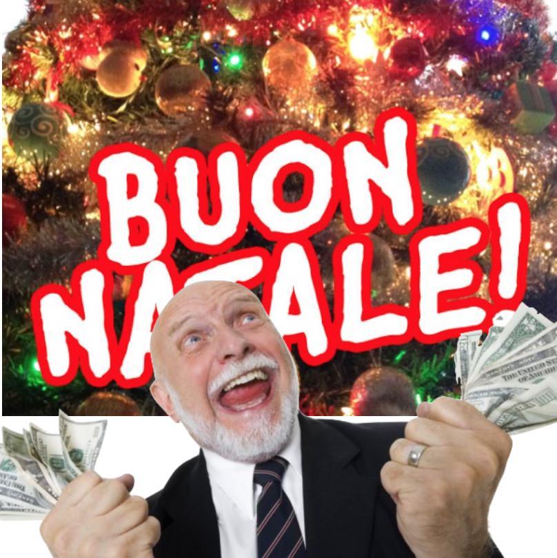 Buon Natale a tutti i parlamentari Italiani onesti! Speriamo che almeno qualcuno li riceva!