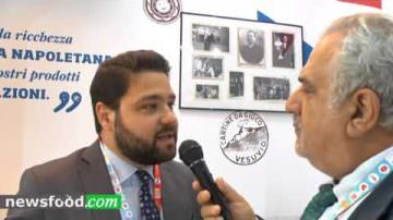Francesco Miccù, responsabile commerciale di Mulino Caputo, a Gluten Free Expo 2017