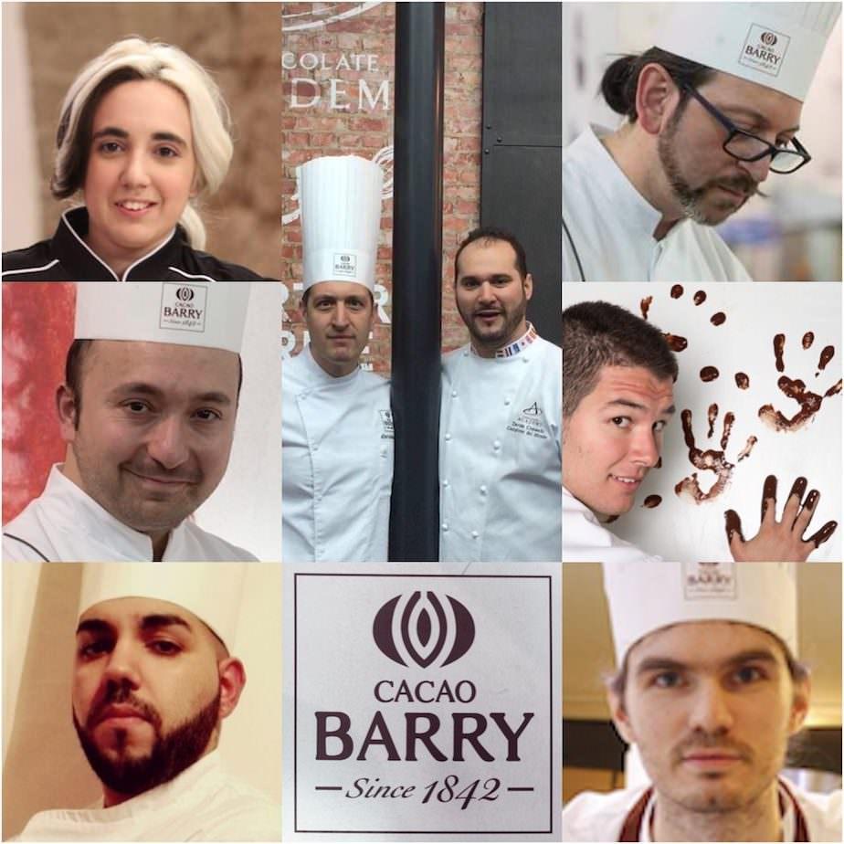 SIGEP Rimini:  i finalisti World Chocolate Masters 2018 di Cacao Barry