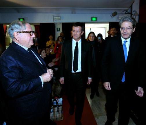 Premio Annuale ISPI al Premier Paolo Gentiloni, in visita a Milano