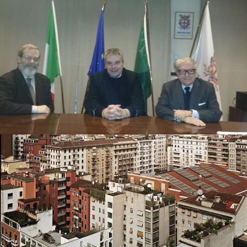 Incontro in Assoedilizia di Onorio Rosati (LeU) candidato alla presidenza di Regione Lombardia