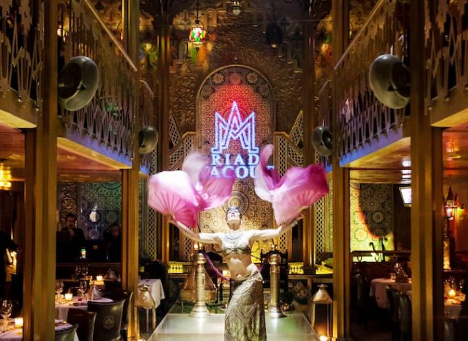 Fashion Week al Riad Yacout, cucina marocchina e danza del ventre