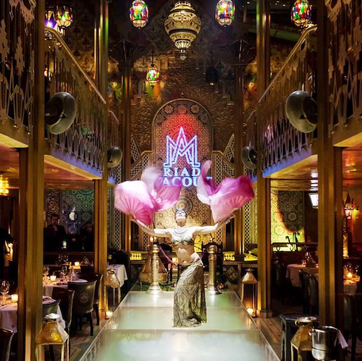 Fashion Week al Riad Yacout, cucina marocchina e danza del ventre ...