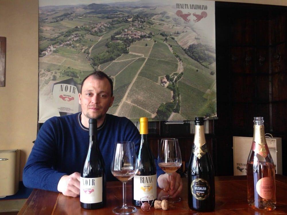 Tenuta Mazzolino, Noir di Pinot Nero in Oltrepò Pavese