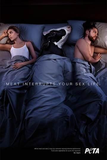 """""""Mangia carne e sarai un amante cattivo"""", polemiche per lo spot PETA"""