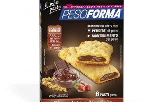 Pesoforma Biscotto Cioccolato e Nocciola per perdere peso in modo goloso