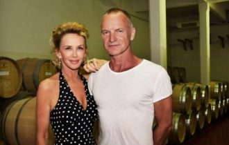 Vino, Sting e la moglie ad Anteprima di Toscana 2018