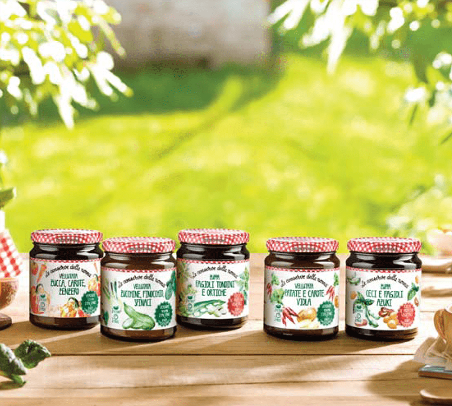 Le Conserve della Nonna: Nuova linea di Zuppe e vellutate