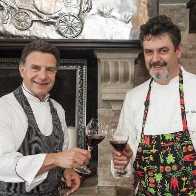 Ristorante Righi San Marino, due chef stellati in cucina: Luigi Sartini e Fabio Rossi