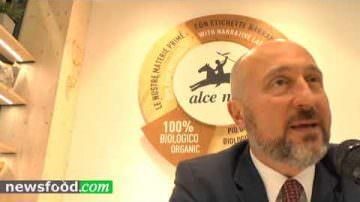 Massimo Monti a Biofach: Alce Nero galoppa a tutto BIO