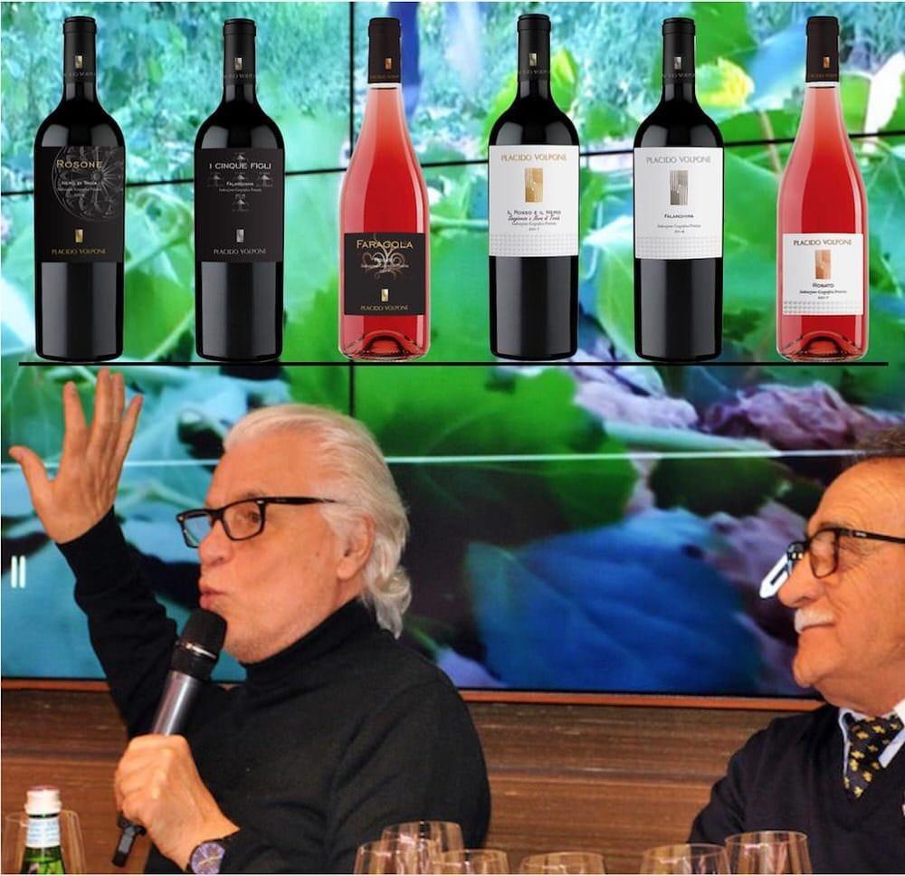 Aspettando Vinitaly 2018: i vini Placido-Volpone in anteprima a Roma